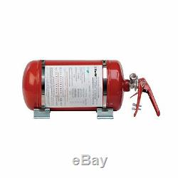 Top OMP Mechanical Extinguishing System with steel bottle 4,25 L