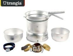 Trangia 27-1 Ultra Light Stove System Storm Proof Cook Set + Free Fuel Bottle