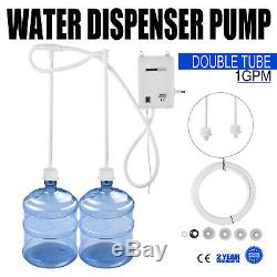 US 110V AC Bottled Water Dispensing Pump System Replaces Bunn Double Tubes 1 Gal