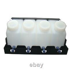 US Stock-Roland Mimaki Bulk Ink System-4 Bottles, 4 Cartridges