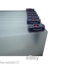 US Stock Roland Mimaki Bulk Ink System-4 Bottles, 8 Cartridges