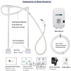 Water Dispenser 5 Gallon Bottle Water Pump System 60Psi For Fridge Ice Maker Fau