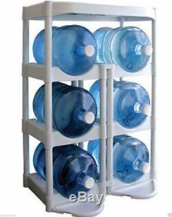 White Water Bottle Buddy Holder Storage Rack Shelf Complete System Kit NEW NEW