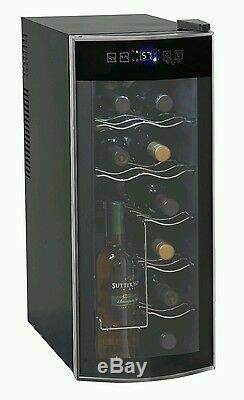 Wine Bottle Bar Beverage Fridge Cool Electric Storage System Beer Drink Cabinet