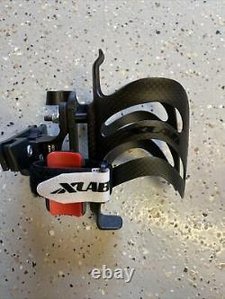 XLAB Delta 105 Saddle Mounted Single Water Bottle Carrier System With GORILLA CAGE