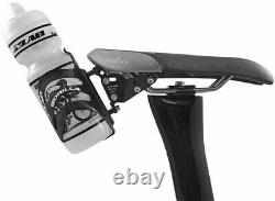 XLAB Delta 400 Black Saddle mounted Single bottle system with cage mount and cage