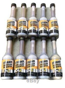 10 Nouveau Bg Éthanol Corrosion Preventer Fuel System Cleaner 6 Bouteilles Oz