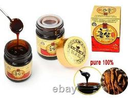 100% Pure 6 Years Root Korean Red Ginseng Extrait 300g (100g X 3 Bouteille) Panax