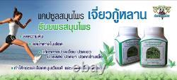 12 Bouteilles Jiaogulan Capsules Immunity System Booster Gynostemme Pentaphyllum