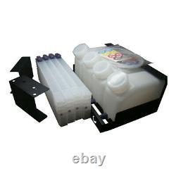 4 Bouteilles 4 Cartouches Système D'encre En Vrac Pour Roland Mimaki Inkjet Printer Machine