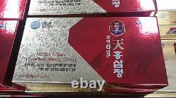 4 Bouteilles D'extrait De Ginseng Rouge Coréen 6years Root (240g X4ea)