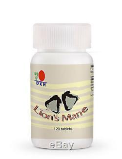 4 Bouteilles Mane Dxn Lion 120 Comprimés Hericium Cerveau Du Système Immunitaire