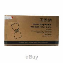 500ml Vide Filtre / Stockage Bouteille Utilisation Du Système Lab 0,22m Pes Membrane, 12 / Cas