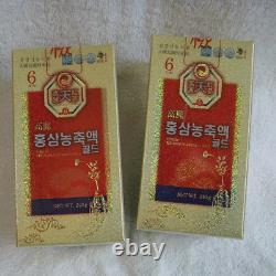 6 Ans Coréen Rouge Ginseng Extrait D'or (240g2bottles) / Anti-vieillissement