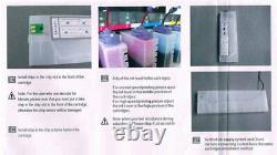 6 Bouteilles, 12 Cartouches Pour Roland Continuous Bulk Ink Supply System Ciss