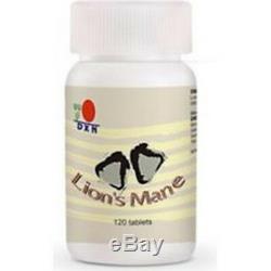 6 Bouteilles Dxn Lion's Mane 120 Comprimés Système Immunitaire Aux Nerfs Hericium Erinaceus