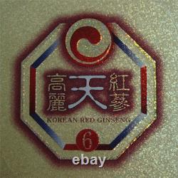 6-ans Korean Heaven Red Ginseng Extrait Or (240g3bottles) / Anti-vieillissement