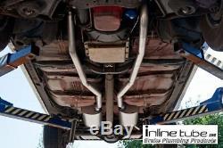 69 Chevelle Ss 396 Bouteilles Big Block Resonators Système Silencieux D'échappement Tuyaux De Queue