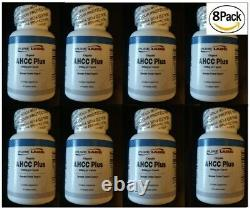 8 Bouteilles D'hexose Actif Composé Ahcc 1000mg Systeme Immune Booster