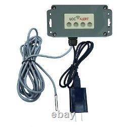 Alarme Wi-fi Sans Fil De Surveillance De Température De Refroidisseur De Refroidisseur De Réfrigérateur Sans Fil