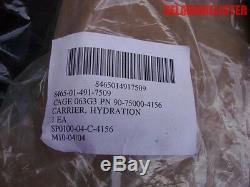 Armée Américaine 3l Système Hydratation Sac D'eau / Bouteille Porte-8465-01-491-7509 Nouveau