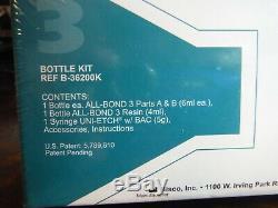 Brand New Bisco All-bond 3 Kit De Bouteille, Système Adhésif Universel