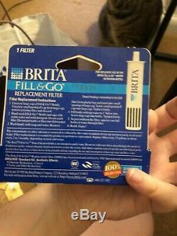 Brand New Brita Fill Et Go Bouteille D'eau Filltration Système Avec 18 Filtres