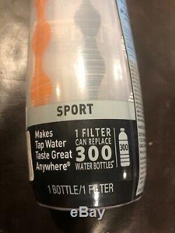 Brand New Brita Sport Bouteille De Filtration D'eau Système 1 Bouteille De 20 Onces Et Filtre