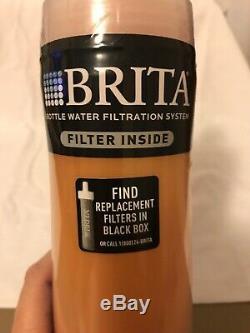 Brita Bouteille D'eau Système De Filtration Avec Filtre Sport 20 Oz Bpa Nouveau
