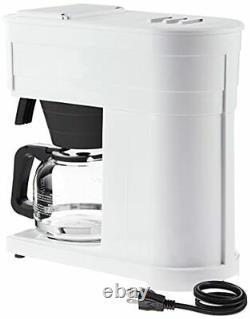Bunn Grw Velocity Brew 10-cup Home Cafe Brewer Blanc