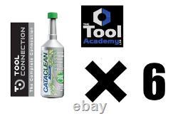 Cataclean Essence 500ml X 6 Bouteilles Et Carburant Plus Propre Système D'échappement