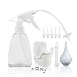 Cérumen Enlèvement Kit Ear Cleaner Tool Set Ear Laveuse Bouteille + Système 5pcs Conseils Nouveau