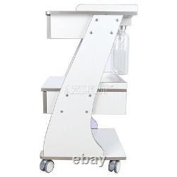 Chariot De Socket Dentaire Intégré En Métal Mobile Avec Système D'alimentation En Bouteille D'eau Automatique