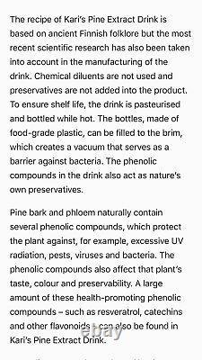 Combattre Les Virus Avec Le Système Immunitaire Boostorganic Pine Bark Drink -cas De 20 Bouteilles