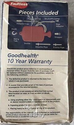 Combinaison Goodhealth Sans Défaut Lavement Bouteille D'eau Douche Nouveau Système
