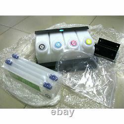 Continuer Bulk Ink System Ciss Dx5-4 Bouteille 4 Cartouches Mimaki Jv33/cjv30/jv5
