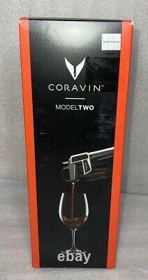 Coravin Modèle Deux Système De Vin Graphite Foncé