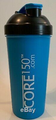 Core150 Bouteille Shaker Cup 1 Litre Avec Système De Stockage Interne Mélangeur Nouveau Protéines