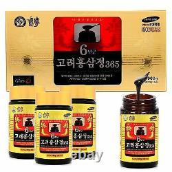 Coréen 6 Ans Racine Rouge Ginseng Extrait 960g (240g × 4bottle) Panax Ginseng