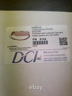 DCI 8144 Economy Système D'eau Standard Autocontenu Dentaire Avec Bouteille De 2 Litres