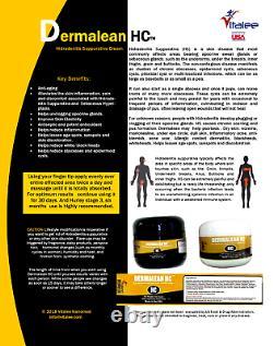 Dermalean Hc-hidradénite Suppurativa Étape 2 Boîte De 3 Bouteilles (2 Crème D'oz)