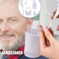 Ear Wax Removal Tool Kit -ear Irrigation Machine À Laver Système D'oreilles Nettoyage De La Poignée D'oreilles