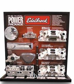 Ed70050 Edelbrock RPM Nitrous Plate System Nos 10 Lb. Bouteille, Kit De Forage Carré