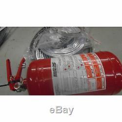 Endommager Poignée Rcv Bouteille En Acier Mécanique 4,25 Litres Afff Système Extinguisher