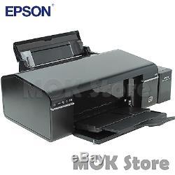 Epson L805 Imprimante À Jet D'encre Pour Système D'alimentation En Encre Continue Avec Bouteilles D'encre De 70 ML X 6