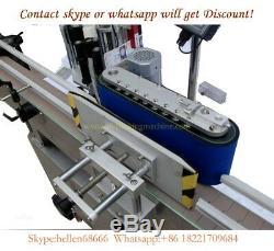 Etiqueteuse, Étiqueteuse Automatique De Bouteilles Plates, Avec Système De Bouteilles Rondes