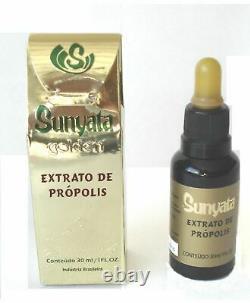 Extrait De Propolis Verte Brésilienne Sunyata Golden 6 Bouteilles X 30ml 1oz Lot