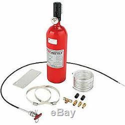Fire Bottle Rc-500 Système De Sécurité Incendie Avec 5 Lb Bouteille