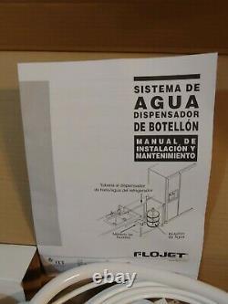 Flojet Bw1000a Système De Distribution De Bouteille D'eau Original Itt Prototype
