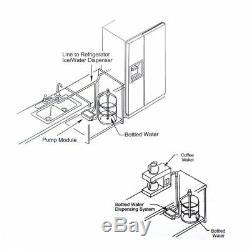 Flojet Bw2000a 220 V Ac En Bouteille Pompe De Distribution D'eau Système Remplace Bunn Nouveau